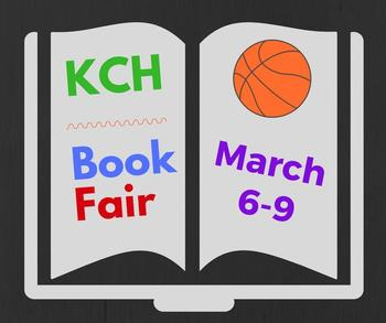 infographic about March 6-9 book fair